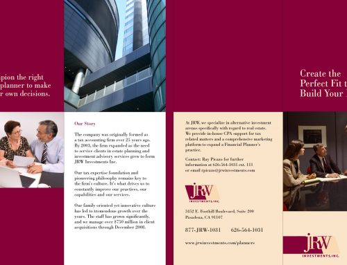 JRW Investments Brochure