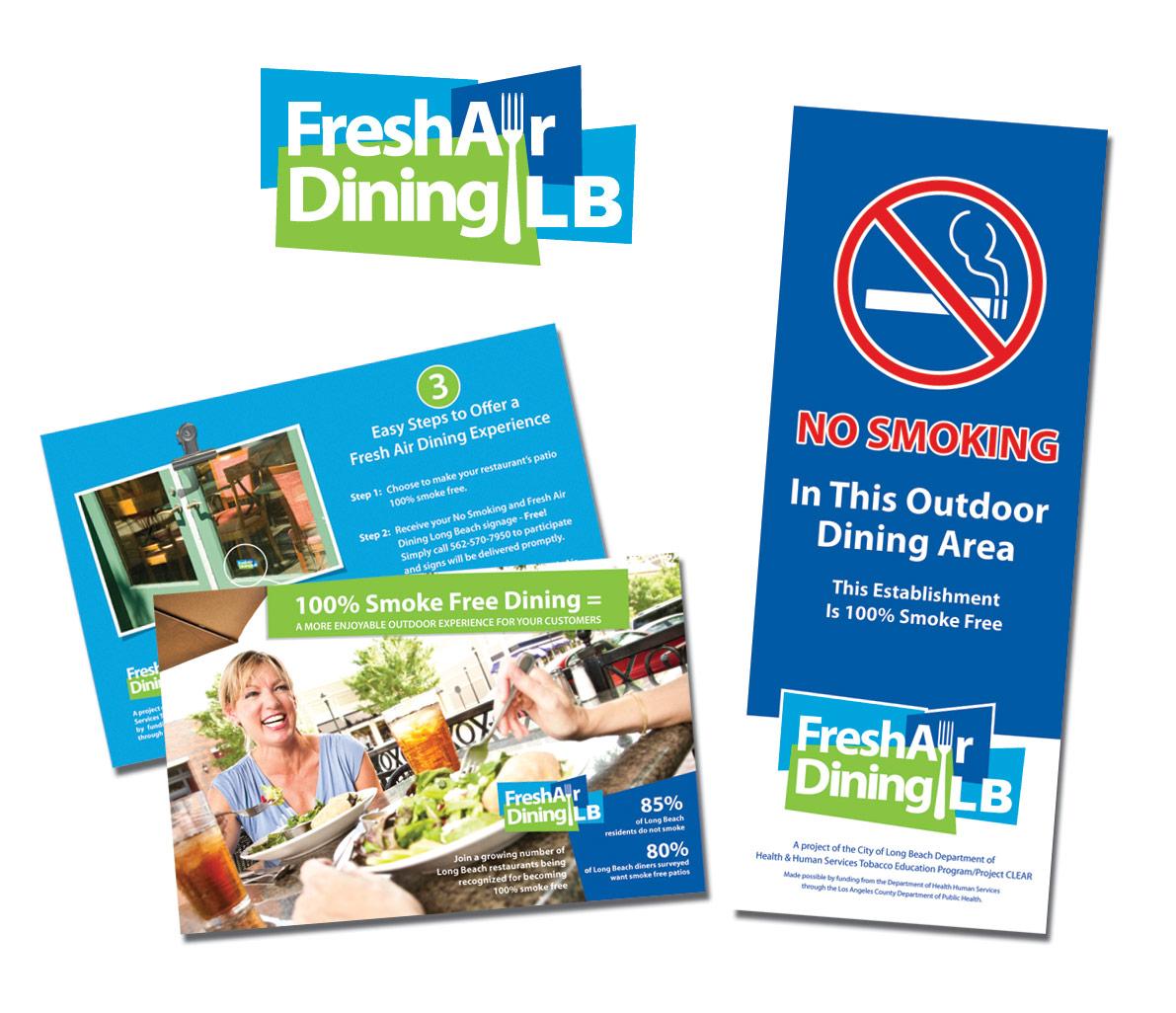 City of Long Beach Fresh Air Dining Marketing Campaign