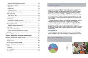 City of Long Beach Community Health Assessment Report