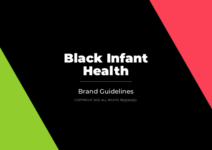 City of Long Beach Black Infant Health Brand Style Guide