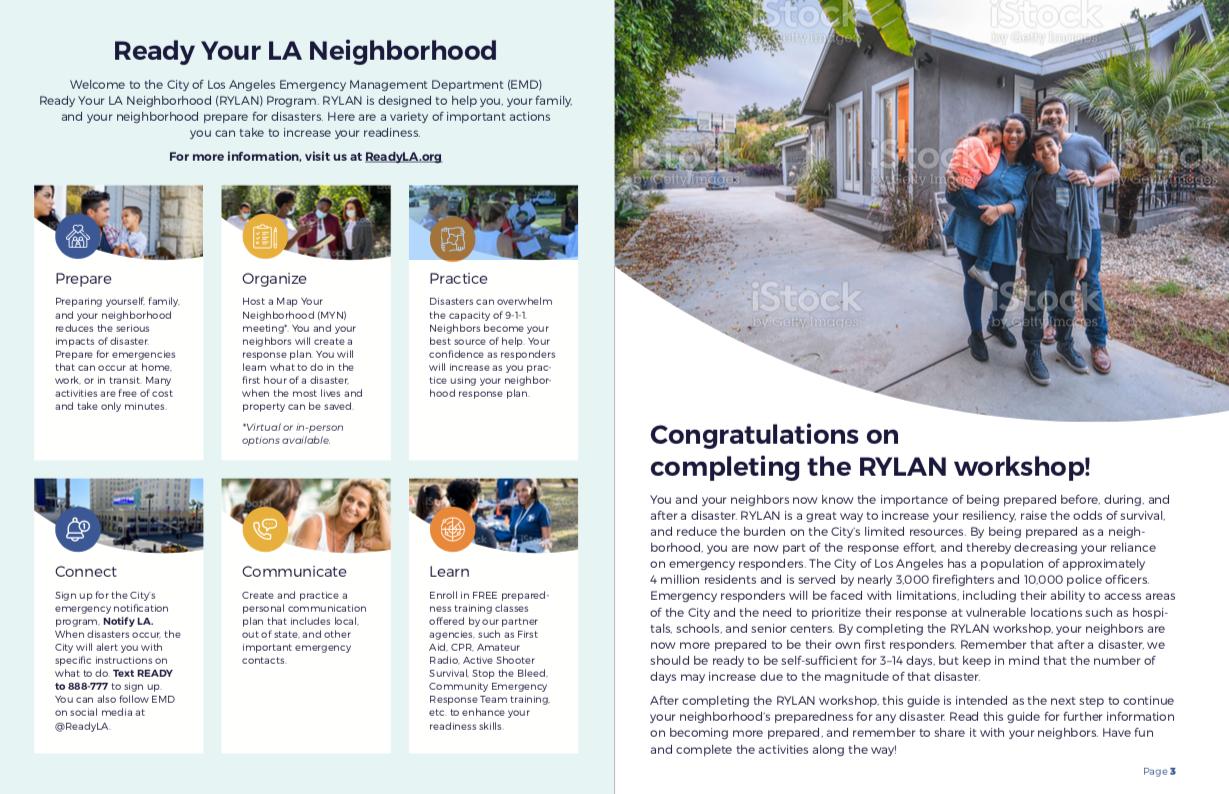 City of Los Angeles   Ready Your LA Neighborhood Resource Guide (English)