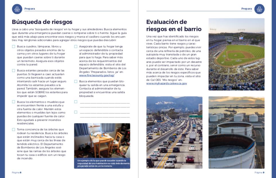 City of Los Angeles | Ready Your LA Neighborhood Resource Guide (Spanish)